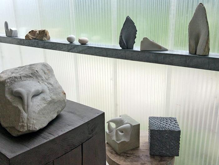 """Ausstellung """"stock und stein"""""""